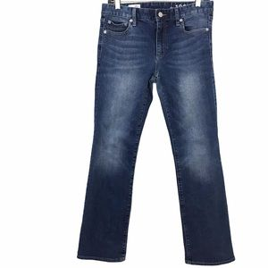 Gap 1969 Perfect Boot Cut Style Jeans Petite